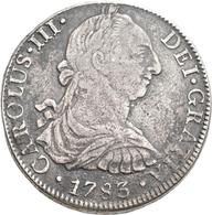 Mexiko: Carlos III. 1759-1788: 8 Reales 1783 Mo, Mexiko City. 25,19 G. Schön - Sehr Schön. - Mexiko