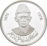 Pakistan: 100 Rupees 1976, 100. Geburtstag Quaid-e-Azam Mohammad Ali Jinnah, Father Of The Nation. K - Ohne Zuordnung