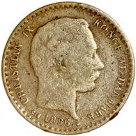 Dänemark: Christian IX. 1863-1906: Lot 2 Münzen: 10 Öre Von 1886 In Schöner Bis Sehr Schöner Erhaltu - Dänemark