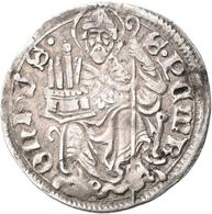 Italien: Bologna-anonym, Unter Päpstlicher Herrschaft Um 1360/1450: Grosso 1,63 G .BONONI-.A. DOCET. - 1861-1946 : Kingdom
