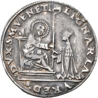 Italien: Venezia, Leonardo Loredan 1501–1521: 16 Soldi O.J. St. Markus, Der Auf Dem Thron Sitzt, übe - 1861-1946 : Kingdom