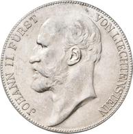 Liechtenstein: Johann II. 1858-1929: 5 Kronen 1904, HMZ 2-1376c, Vorzüglich - Stempelglanz. - Liechtenstein