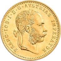 Österreich - Anlagegold: Franz Joseph I. 1848-1916: Dukat 1915 (NP), KM# 2267, Friedberg 494. 3,49 G - Oesterreich