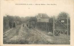 VILLECRESNES - Allée Des Sablons, Bois Prie Dieu. - Villecresnes