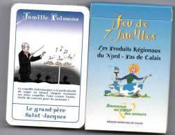 Jeu De Cartes Des 7 Familles : Les Produits Régionaux Du Nord-Pas De Calais. Etat Neuf. - Jeux De Société