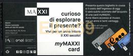 Roma, 2020, MAXXI, Museo Naz. Delle Arti Del XXI Secolo, Biglietto D'ingresso, 4-1-2020 - Tickets D'entrée