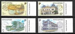 SINGAPOUR     -    Série Des Batiments Des Agences Postales.  Neufs **. - Singapour (1959-...)