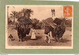 MARIAGE ARABE   BASSOURS   SCENES ET TYPES - Afrique