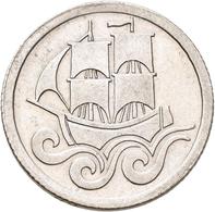 Danzig: ½ Gulden 1923. Jaeger D6. 2,48 G. Silber. Vorzüglich. - Ohne Zuordnung