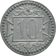 Danzig: Typensammlung Danzig, Dabei: 10 Pfennig 1920 Eisen; 8-Münzen-Set 1923 (1 Pf. - 5 Gulden); 6- - Ohne Zuordnung