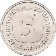 Proben & Verprägungen: Bundesrepublik Deutschland: FEHLPRÄGUNG 5 Mark (J. 415), Beidseitig Mit Wertz - Ohne Zuordnung