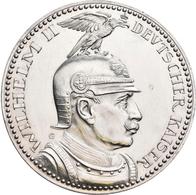 Proben & Verprägungen: Deutsches Kaiserreich 1871-1918: Lot 2 Stück; Probeprägungen In Kupfer Und Si - Ohne Zuordnung