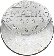 Proben & Verprägungen: Weimarer Republik 1918-1933: 200 Mark 1923 A. Jaeger 304. Über 50 Prozent Dez - Ohne Zuordnung
