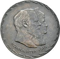 Medaillen Deutschland: Bayern, Ludwig III. 1913-1918: Lot 2 Stück; Medaille 1918 Von Alois Börsch, A - Deutschland
