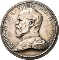 Medaillen Deutschland: Bayern, Ludwig III. 1913-1918: Stecktaler (Steckmedaille, Bayern Thaler) 1914 - Deutschland