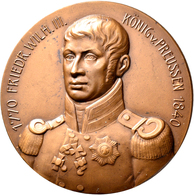Medaillen Deutschland: Befreiungskriege 1813: Lot 3 Bronzemedaille 1913 Von BH. Mayer, Pforzheim Anl - Deutschland