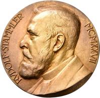 Medaillen Deutschland: Berlin: Bronzemedaille 1927 (v. Karl Kowalczewski) A.d. Goldene Promotionsjub - Deutschland