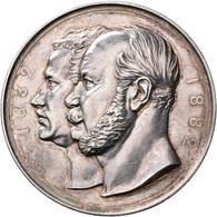 Medaillen Deutschland: Brandenburg-Preußen, Wilhelm I. 1861-1888. Silbermedaille 1882 Von Weigand/Ku - Deutschland