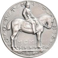 Medaillen Deutschland: Brandenburg-Preußen, Wilhelm II. 1888-1918: Silbermedaille 1915 Von P. Sturm, - Deutschland