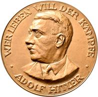 Medaillen Deutschland: Drittes Reich 1933-1945: Bronzene Erinnerungsmedaille Für Helfer Bei Den Olym - Deutschland