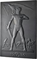 Medaillen Deutschland: Drittes Reich 1933-1945: Lot 3 Stück; Eisengußplakette 1936 Von R. Klein, Gef - Deutschland