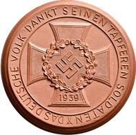 Medaillen Deutschland: Drittes Reich 1933-1945: Porzellanmedaille 1941, Aus Der Porzellanmanufaktur - Deutschland