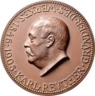 Medaillen Deutschland: Mannheim: Bronzene Verdienstmedaille O.J., FÜR TREUE MITARBEIT Der Firma BOPP - Deutschland