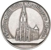 Medaillen Deutschland: Reutlingen: Silbermedaille 1901, Von Mayer Und Wilhelm. Auf Die Neueinweihung - Deutschland