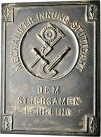 Medaillen Deutschland: Stuttgart: Lot 3 Stück; Bronzene Prämienmedaille Von Mayer & Wilhelm Der Mech - Deutschland
