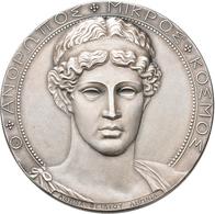 Medaillen Deutschland: Stuttgart: Silbermedaille 1906 Von Mayer & Wilhelm, 78. Versammlung Deutscher - Deutschland