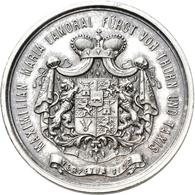 Medaillen Deutschland: Thurn Und Taxis, Maximilian Maria Lamoral 1862-1885: Silbermedaille 1882, Von - Deutschland