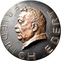 Medaillen Deutschland: Weimarer Republik 1918-1933: Einseitige Eisengussmedaille O. J., Des Hüttenam - Deutschland