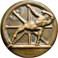 Medaillen Deutschland: Weimarer Republik: Große Bronzegussmedaille O.J. DEM BEWÄHRTEN NOTHELFER, Der - Deutschland