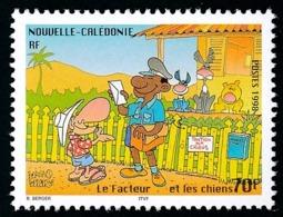 NOUV.-CALEDONIE 1998 - Yv. 761 **   Faciale= 0,59 EUR - Le Facteur Et Les Chiens. Journée Du Timbre  ..Réf.NCE25449 - New Caledonia