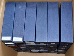 Alle Welt: 36 Münzrähmchen-Boxen Voll Mit Münzen (geschätzt 2.800) Aus Der Ganzen Welt Nach Nominale - Ohne Zuordnung