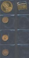 Alle Welt  - Anlagegold: Kleines Lot 4 Goldmünzen Und 1 Goldbarren: 4 Dukaten 1915; 20 BEF 1870; 20 - Ohne Zuordnung