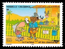 NOUV.-CALEDONIE 1998 - Yv. 761 **   Faciale= 0,59 EUR - Le Facteur Et Les Chiens. Journée Du Timbre  ..Réf.NCE25450 - New Caledonia