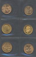 Alle Welt  - Anlagegold: Kleines Lot 6 Goldmünzen: 10 CHF Vreneli 1922; 20 CHF Vreneli 1935 LB; 1 Du - Ohne Zuordnung