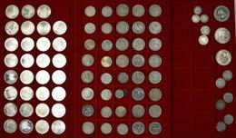 Alle Welt: Münzkoffer Mit Diversen Münzen, Dabei: Münzen Kaiserreich Und Drittes Reich; 100 ATS Münz - Ohne Zuordnung
