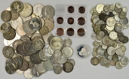 Alle Welt: Sammlung Von Circa 230 Münzen Aus Aller Welt; Meist Silber. - Ohne Zuordnung