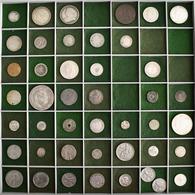 Alle Welt: Eine Bunte Mischung Von 44 Münzen In Silber Und Kupfer Aus Aller Welt (18.-20. Jhd.). Seh - Ohne Zuordnung