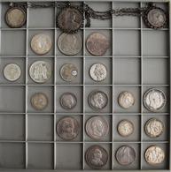 Alle Welt: Insgesamt 22 Silbermünzen Aus Aller Welt Mit Schwerpunkt Deutsches Kaiserreich/Preußen; S - Ohne Zuordnung