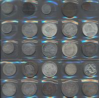 Alle Welt: Lot 25 Münzen Aus Aller Welt, überwiegend Silbermünzen, Dabei Schweden, Österreich-Ungarn - Ohne Zuordnung
