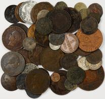 Alle Welt: Lot 66 Diverse Kleinmünzen, überwiegend 19 Jhd., Nicht Näher Bestimmt. - Ohne Zuordnung