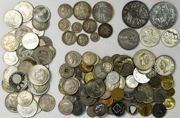 Alle Welt: Eine Sammlung An Diversen Münzen, Medaillen Und Banknoten (wenige) Aus Der Ganzen Welt. D - Ohne Zuordnung