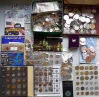 Alle Welt: Sammlungsnachlass Mit Diversen Münzen Aus Aller Welt, überwiegend Kleinmünzen Aus Aller W - Ohne Zuordnung