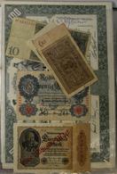 Alle Welt: Ein Leitz Ordner Mit Münzen Aus Der Ganzen Welt, Ergänzt Durch Medaillen, Aktien Und Bank - Ohne Zuordnung