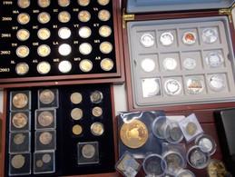 Alle Welt: Umfangreiche Sammlung An Münzen Und Medaillen Aus Aller Welt, Oft Teurere ABO-Ware In Edl - Ohne Zuordnung
