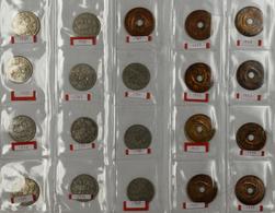 Afrika: Kleine Sammlung Münzen Aus East Africa, Kenya, Uganda, British West Africa U.a. Auf 3 Münzbl - Münzen