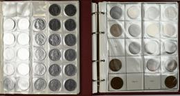 Italien: Zwei Alben Voll Mit Münzen Aus Italien Nach Nominalen Und Jahrgängen Gesammelt. Von Centesi - 1861-1946 : Kingdom